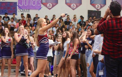 Bold Blackhawks Show Their LQ Pride at the Back-to-School Pep Rally