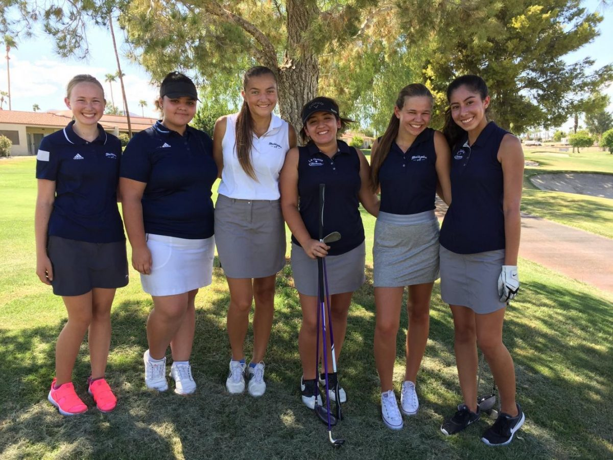 Girls' Golf Beats Saints for First Time in Two Years