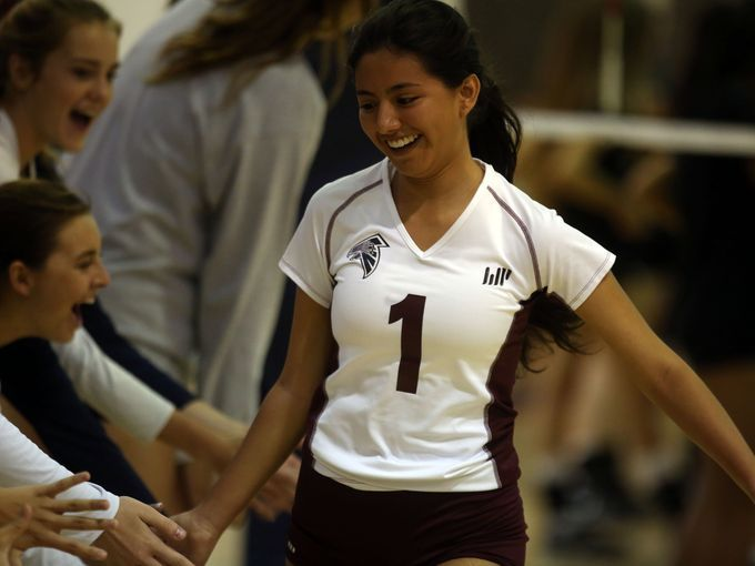 Girls' Volleyball Has High Hopes for DVL