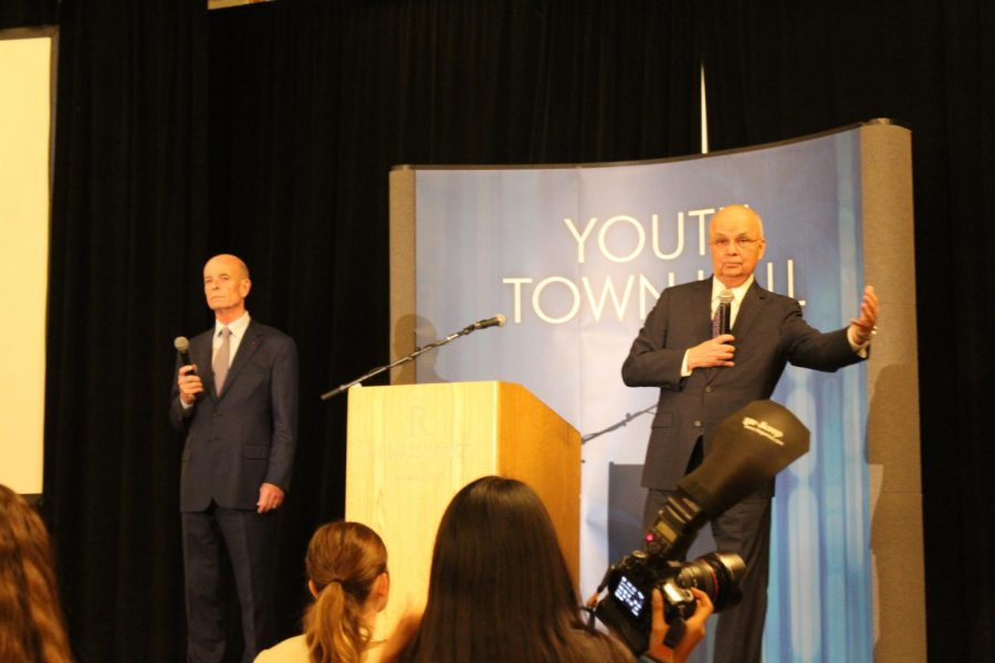 Intelligence Officers Speak at Youth Town Hall