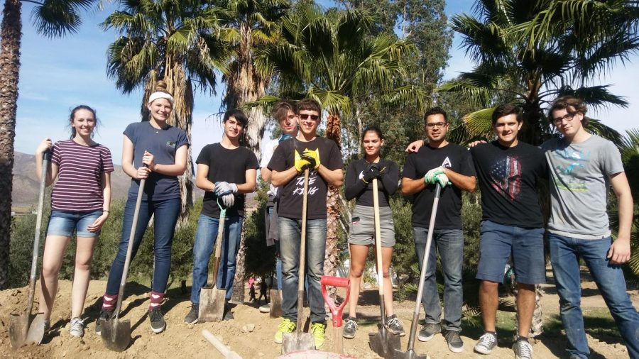 Learning Through Community Service: Students Journey to Mexico