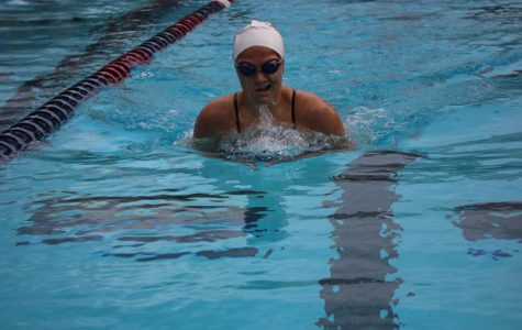 Boys' and Girls' Swim Push Themselves to do Their Best