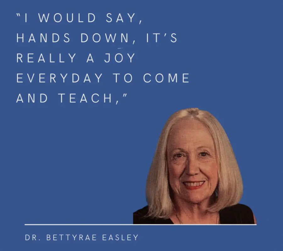 Thankful for community, Dr. Bettyrae Easley finds the 'positive' during distance learning